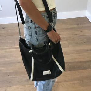 Marc by Marc Jacobs Black White Crossbody Purse